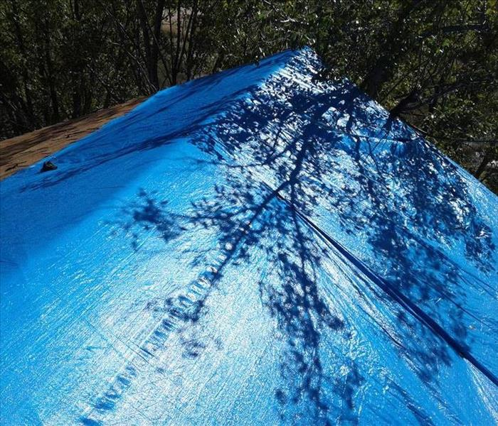 Wind Damaged Roof in Albuquerque After